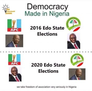 Reality of the current political situation in Edo State