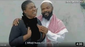 Alhaji Musa 'counselling' another lady